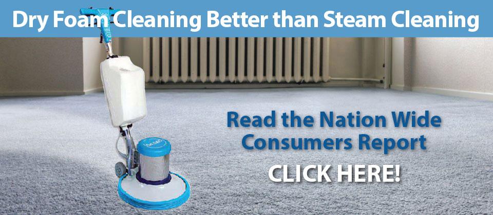 dry foam cleaning